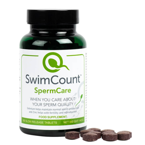 SwimCount SpermCare - Food Supplement for Men