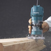 Makita 3709  4.0A Laminate Trimmer with Roller Guide