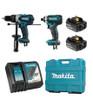 Makita DLX2005T  18V Hammer Drill + Impact Driver 5Ah Combo Kit +FREE 5AH Battery