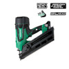 Metabo-HPT HIT-NR1890DC  30-34 Degree Cordless Framing Nailer 3.0Ah Kit - Green Lightning +FREE Compact 3.0Ah Battery