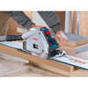 Bosch GKT13-225L 6-1/2 In. Track Saw with Plunge Action and L-Boxx Carrying Case- NO TRACK