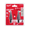 Milwaukee 48-89-9234 Step Drill Bit Set #4 - 2PC