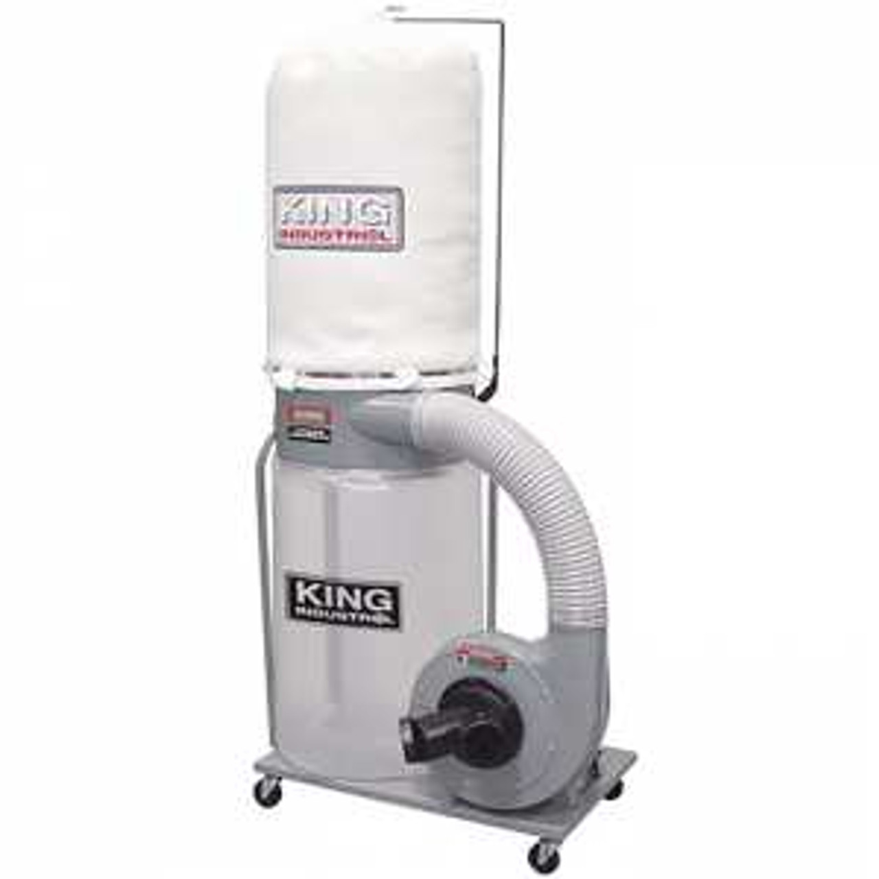 King Industrial KC-3105C 1-1/2HP Dust Collector