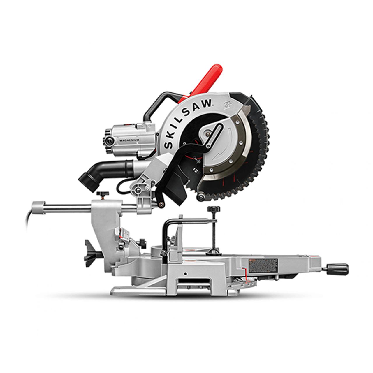 Skilsaw Spt88 01 Worm Drive Dual Bevel 12 Sliding Miter Saw Atlas Machinery