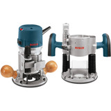 Bosch 1617EVSPK 12.0A 2.25HP Fixed + Plunge Base Router Kit
