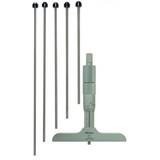 "Mitutoyo MTI-129-132  6"" Depth Micrometer, 4"" Base"