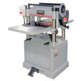 "King Industrial KC-385FX 15"" 3HP 220V 1PH Stationary Planer with Built In Mobile Base"