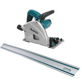 "Makita SP6000X1  12.0A 6-1/2"" Plunge Cut Saw with 55"" Guide Rail"