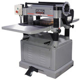 "King Industrial KC-520C  20"" 3HP Planer with Built-In Mobile Base"