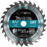 """Makita MAK-A-99960 6-1/2"""" 28T Carbide-Tipped Saw Blade for SP6000 Plunge Cut Saw"""