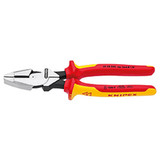 Knipex KNIP-0908240SBA High Leverage Linesman Pliers New England Head-1000V Insulated