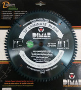 "Dimar DIM-D1080TNDX 10"", 80T, ATB, Melamine Saw Blade"
