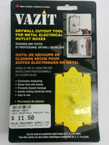 Vazit VAZ-101 Drywall Cutout Tool - Electrical Outlet Boxes