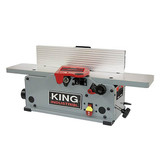 "King Industrial KC-6HJC 6"" Bench-top jointer with helical cutter head"