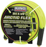 "King Canada K-2538H  Arctic Flex Industrial Air Hose, 25' x 3/8"" ID"