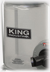 King Industrial KDCB-5  See Through Plastic Bottom Dust Bag