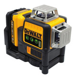 Dewalt DW089LG 3 Beam Green Laser With 12V Battery & Charger