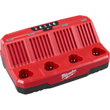 Milwaukee MIL-48-59-1204  M12 Four Bay Sequential Charger