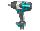 "Makita DTW1002Z  18V Li-Ion 1/2"" 1180Ft/lbs Brushless Impact Wrench With Pin, Tool Only"