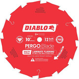 "Freud FRE-D1012LFC  10"" x 12-Tooth Polycrystalline Diamond (PCD) Tipped Ultimate Flooring Blade"