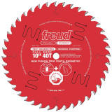 "Freud FRE-P410  Premier Fusion 10"" 40 Tooth Saw Blade with 5/8"" Arbor"