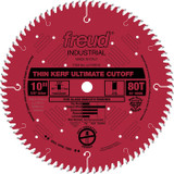 "Freud FRE-LU74R010  10"" 80 Tooth Thin Kerf Ultimate Cutoff Saw Blade"