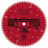 "Freud FRE-LU97R010  10"" 80 Tooth TCG Double Sided Laminate/ Melamine Saw Blade"