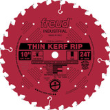 "Freud FRE-LU87R010  10"" 24 Tooth FTG Thin Kerf Rip Saw Blade"