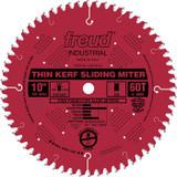 "Freud FRE-LU91R010  10"" 60 Tooth Thin Kerf ATB Sliding Miter Saw Blade"