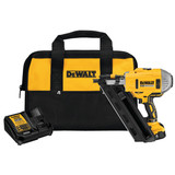 GEN 3 DeWALT DEW-DCN692M1 20V MAX XR Lithium Ion Brushless Dual Speed Framing Nailer Kit with 4.0Ah Battery