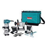 Makita RT0701CX8  4 Base Router Trim Kit