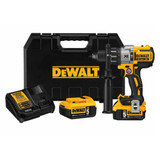 Dewalt DCD996P2  20V Max XR Li-Ion Brushless 3-Speed Hammer Drill Kit with 2x 5.0Ah Batteries