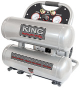 King Industrial KING-KC-4620A  4.6 Gallon Ultra Quiet Oil Free Air Compressor