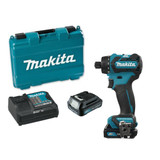 "Makita DF032DSYE 1/4"" Hex Cordless Drill / Driver with Brushless Motor"