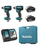 """Makita DLX2149  DTD152 - 1/4"""" Cordless Impact Driver Kit (2 Impact Kit)"""