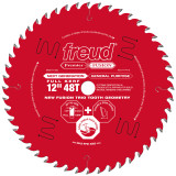 "Freud FRE-P412  Premier Fusion 12"" 48 Tooth Saw Blade with 1"" Arbor"