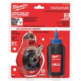 Milwaukee MIL-48-22-3992  100' Precision Line Kit w/ Blue Chalk