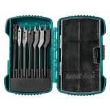 Makita MAK-T-02973 8 Piece Short Spade Bit Kit