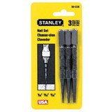 Stanley Hand Tools 58-230  Piece Steel Nail Set Pack - 1/32 - 3/32