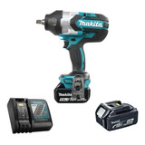 """Makita DTW1002RTE 1/2"""" Cordless High Torque Impact Wrench with Brushless Motor - Kit"""