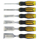Stanley Hand Tools ST-16-971  6 pc FATMAX Thru-Tang Wood Chisel Set