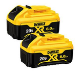 Dewalt DCB206-2  Two pack - 20V MAX 6.0Ah Lithium Ion Premium Battery