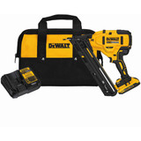 Dewalt DCN650D1  20V Max XR 15 Ga Angled Finish Nailer Kit with 2.0Ah Battery