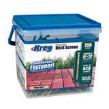 Kreg Tool KREG-SDKC2W700  Protec-Kote Deck Screws - 700ct.
