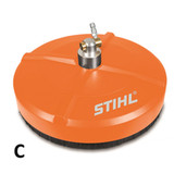 Stihl STL-49005003907 Rotating Surface Cleaner Pressure Washer Attachment