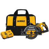 DeWALT DEW-DCS577X1  Flexvolt 60V MAX 7-1/4 in Brushless Worm Drive Style Saw, 9.0Ah Battery Kit