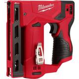 "Milwaukee 2447-20 M12 3/8"" Crown Stapler"