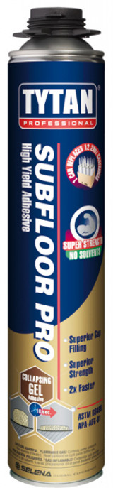 Tytan TYTA0156  Subfloor High Yield Adhesive, 29oz