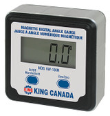 King Canada KW-180N  Magnetic Digital Angle Gauge