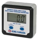 King Canada KING-KW-180N  Magnetic Digital Angle Gauge